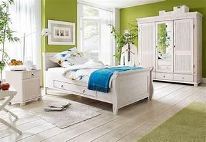 Schlafzimmer Komplett Weiß : massivholz schlafzimmer set komplett kiefer massiv wei ~ Orissabook.com Haus und Dekorationen