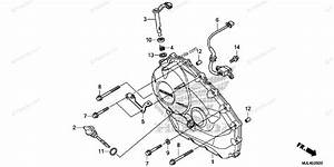 Honda Motorcycle 2015 Oem Parts Diagram For Right