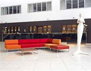 Couch Furniture for Minimalist Lobby Interior :: High Fit Home