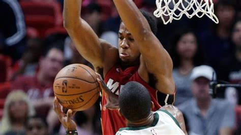 Hassan Whiteside Does Something That Had Not Been Done In