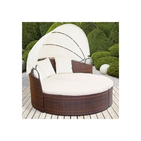 canap r sine awesome lit de jardin rond resine tressee photos design