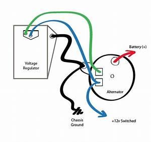 Inspirating Of Electrical Wiring Alternator Voltage
