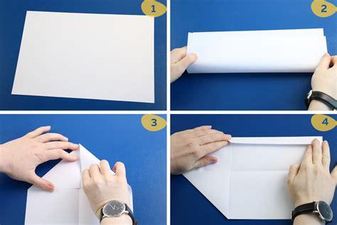 brief falten kleiner umschlag brief zum umschlag falten