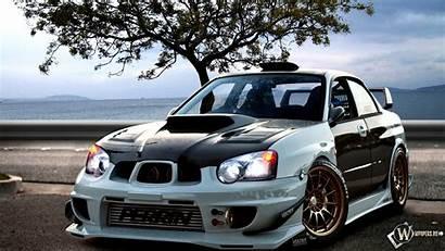 Subaru Wrx Sti Impreza Wallpapers Desktop Tuning