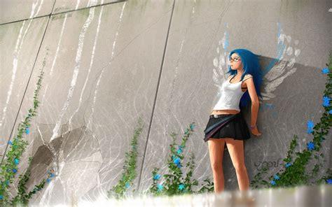 anime girl windows  theme themepackme