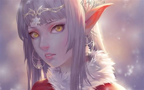 girls beautiful objects drawings fantasy widescreen elves