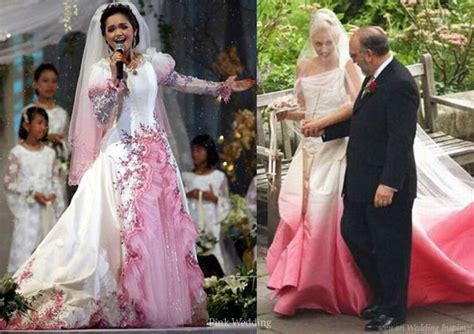 The Ultimate Pink Wedding Dress Entry ? Princess Ball Gown Edition   Wedding Inspirasi