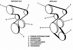 Pontiac Vibe Serpentine Belt Diagram