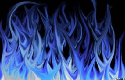 Fire Flames Flame Azul Cool Fuego Animated
