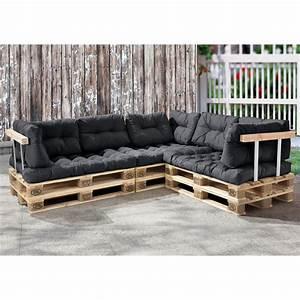 Paletten Couch Kissen : euro paletten sofa 11x sitz r ckenkissen dunkelgrau kissen auflage eur 249 99 picclick fr ~ Orissabook.com Haus und Dekorationen