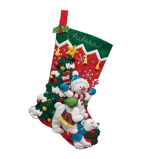 felt applique kits bucilla felt applique kit snowman polar at