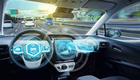 Dashboard Of Self Driving Car