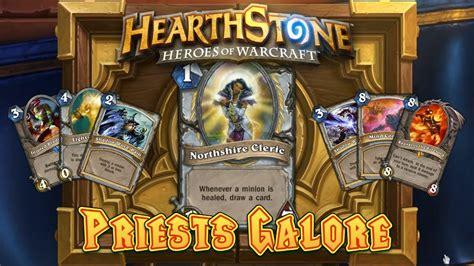 shadow priest deck hearthpwn hearthstone deck spotlight priests galore priest