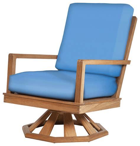 avon teak swivel rocker modern outdoor rocking chairs