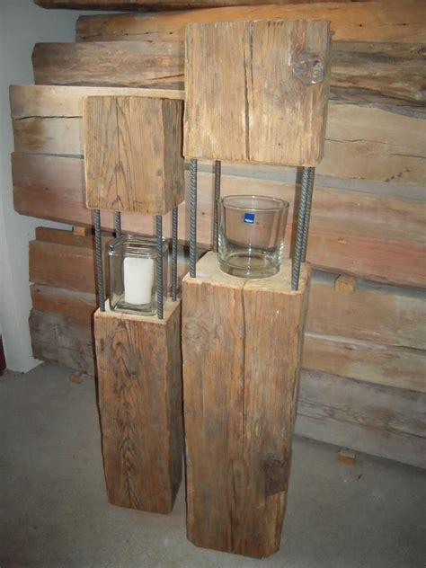 le aus alten balken habe einige laternen aus altholz teils 252 ber 100 jahre