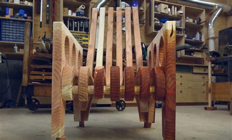 Construction D'une Chaise En Bois