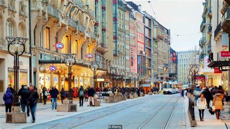 shopping  zurich geneva  cities places  visit