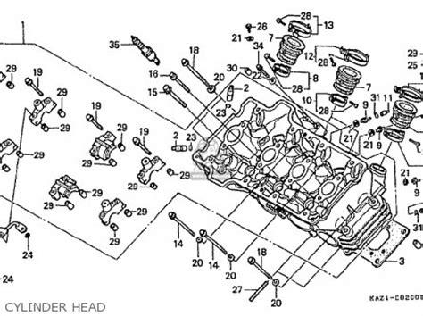 honda cbr250rr mc22 1992 n japan parts list partsmanual partsfiche