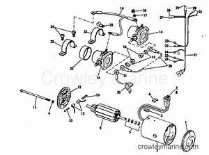 Tilt Motor Group Prestolite Model Etk