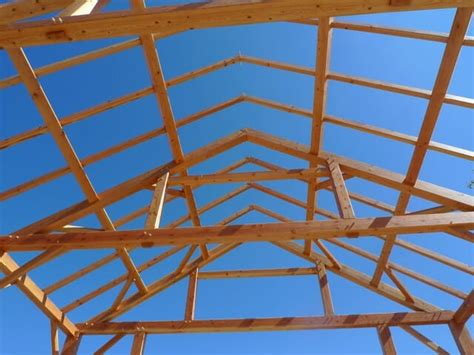 queen post truss ceiling beams timber construction