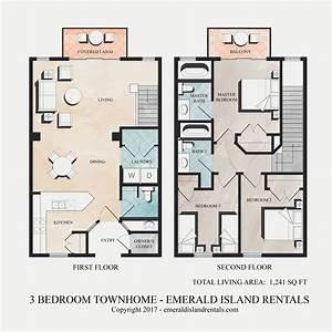 Emerald, Island, 3, Bed, Condo