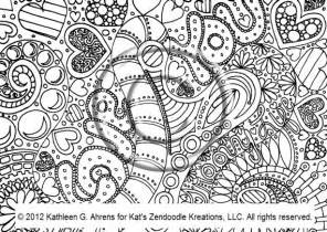 Psychedelic Love Coloring Pages