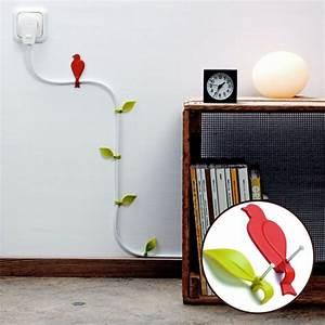 Küchendeko Für Die Wand : deko kabelhalter bl tter sind eine coole dekoidee f r die wand ~ Sanjose-hotels-ca.com Haus und Dekorationen