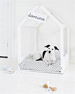 25 cool indoor dog houses home design and interior for Diy dog house indoor