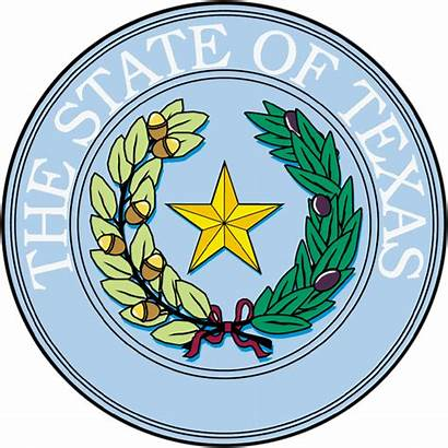 Texas Seal State Court System 1845 December