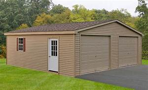 Double wide garages in pa md glick woodworks for 12 foot wide garage door prices