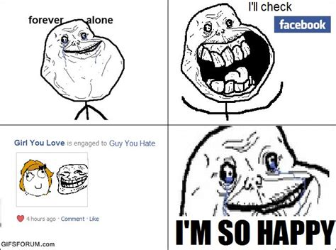 Forever Lonely Meme - image 157238 forever alone know your meme