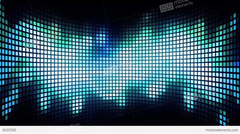 Dancing Light Grid Background Stock Animation