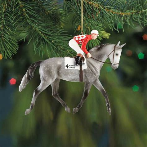 christmas decorating with horses breyer dancer ornament 2013 ebay