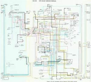 Complete Wiring Diagram Of 1972 Buick  60338