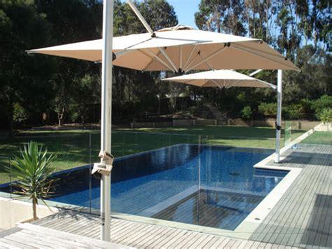 pool shade solutions cantilever sola umbrellas from instant shade umbrellas