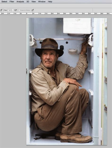 Indiana Jones Fridge