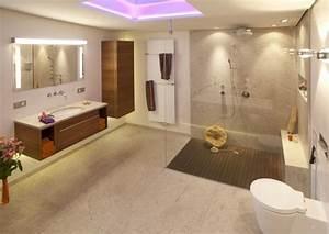 Douche À L Italienne Moderne : 101 photos de salle de bains moderne qui vous inspireront ~ Voncanada.com Idées de Décoration