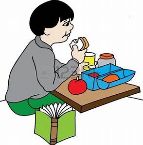 Boy Eating Lunch Clipart (31+)