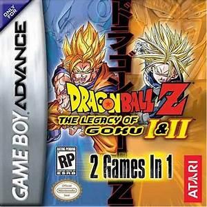 2 In 1 Dragon Ball Z The Legacy Of Goku I U0026 Ii U