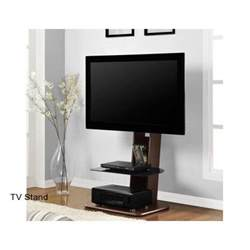 Flat Screen TV Stand With Mount Integrated Furniture Television Corner Modern