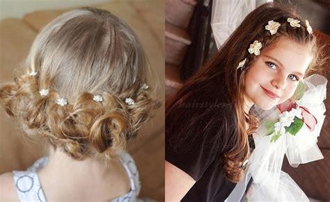 coiffure mariage fille cheveux mi coiffure fille pour mariage coiffure simple et facile