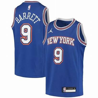 Knicks York Swingman Jersey Barrett Youth Rj