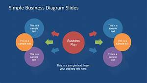 Simple Business Diagrams Slides For Powerpoint