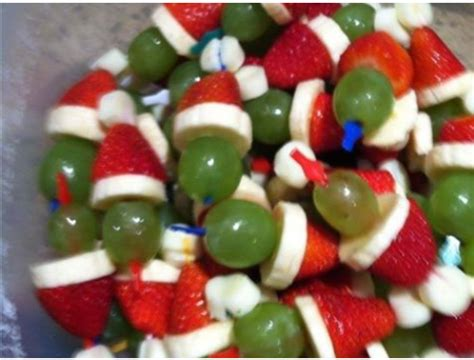 detroit mom her views christmas food crafts grinch kabobs