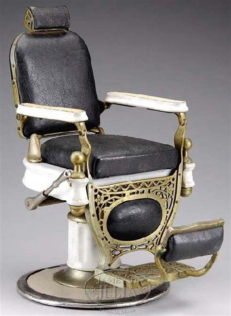 Kochs Barber Chair History by Barber Chair Koch S Salesman Sle Porcelain Nickel