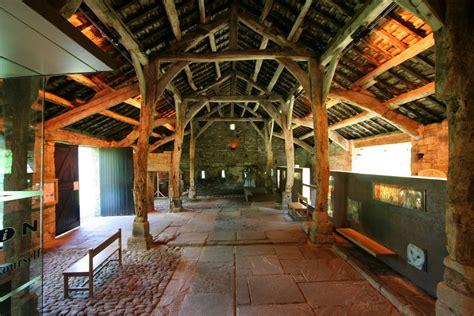 Aisled Barn Interior, Wycoller