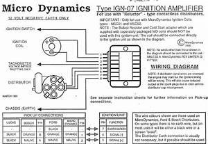 Info Request  Microdynamics Ign