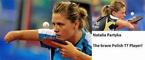 Table Tennis Bu... Natalia Partyka Quotes