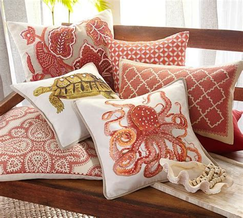Pillows At Pottery Barn by Roz Crewel Embroidered Lumbar Pillow Cover Pottery Barn