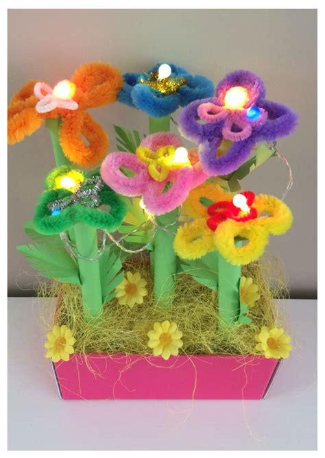 bloem maken als surprise sinterklaas surprise bloemen tuintje met licht